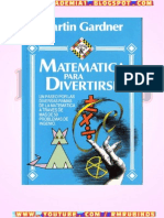 Matematicas Para Divertirse de Martin Gadner
