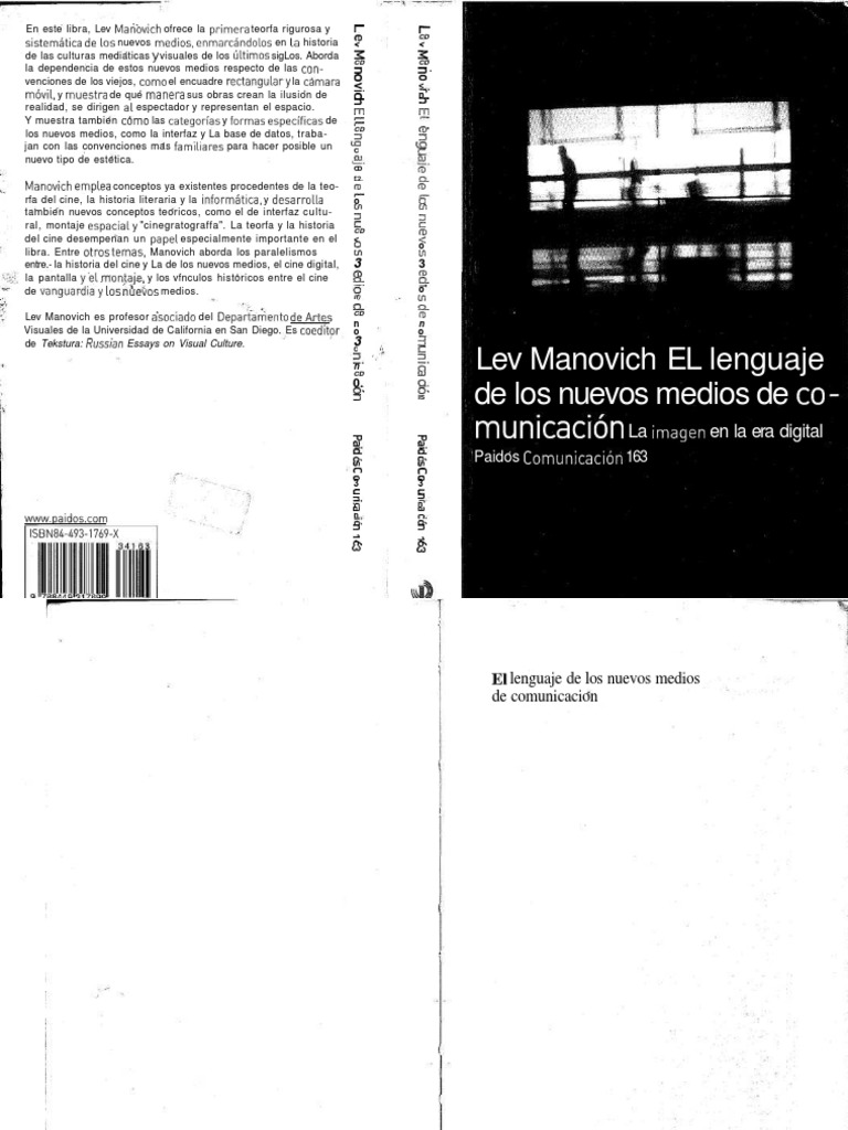 Manovich El Legunaje De Los Nuevos Medios7