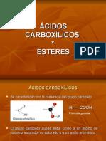 Ácidos Carboxílicos y Ésteres Tat