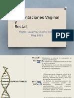 Administracion Vaginal y Rectal
