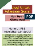Psikologi Untuk Pekerjaan Sosial