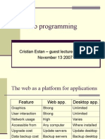 Webprogramming Basics