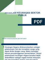 Regulasi Keuangan Sektor Publik ( Seminar Akt) By Asep Effendi R USB YPKP