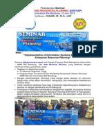 "Kanaidi, SE., M.Si., cSAP - Pembicara ""Seminar Enterprise Resources Planning (ERP/SAP)_di Univ. BSi Bandung, 10 Juni 2015"