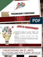 CREATIVIDAD Y PERSONALIDAD