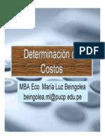 Determinacion de Costos Marita Beingolea