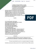 Griffin et al v. City of Milwaukee et al - Document No. 7