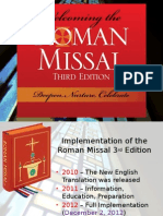 New Translation of Roman Missal