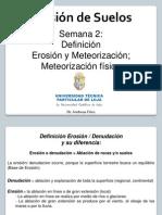 2 Formas de Erosion y Meteorizacion Fisica