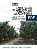 analisis foliar