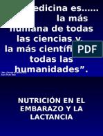 Nutricion en El Embarazo y La Lactancia Nov 2010