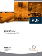 241 Storm CIE Sharepoint Case Study