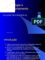 Análise Transacional - 1° passo - TA firth
