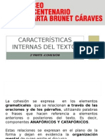 Características Internas Del Texto 2
