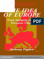 Anthony Pagden 2002 the Idea of Europe From Antiquity and the EU