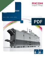 RICOH Pro C7100 C7110X Series Brochure