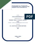 Primera TRABAJO de FISICA Experimental III