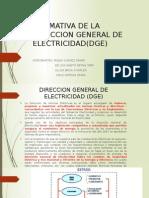 Normativa de La Dge-grupo3