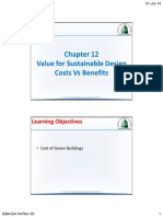 Chapter 12-Value for Sustainable Design Cost vs Benefit