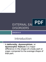 External Ear Disorders