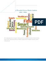 Rising Health Awareness across the Globe to Drive the Wrist Wearable Devices Market to $35 billion by 2020