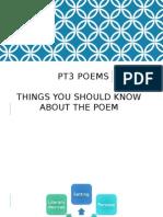 PT3 Poems Module