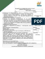 1Planificación Formación Civica y Etica VBLOQUE Quinto Grado