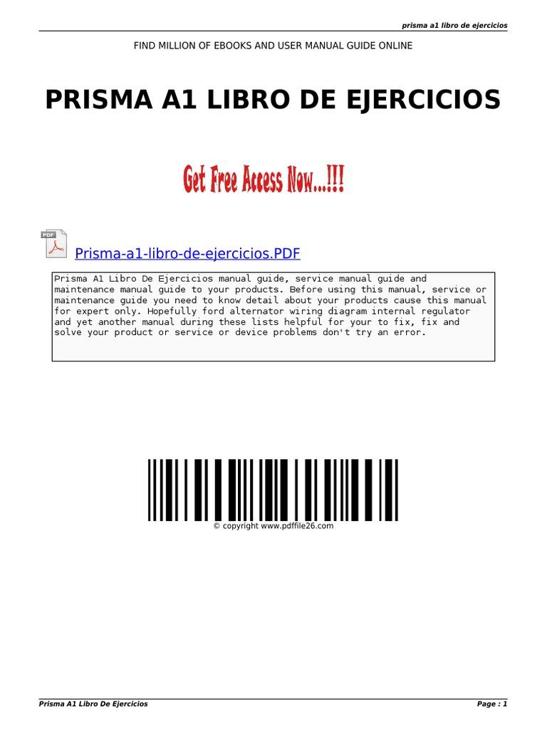 nuevo prisma a1 pdf