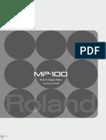 Roland MP-100 Panduan Manual