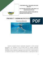 proiect hidrokineto