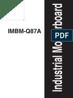 IMBM Q87A Manual