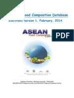 Data Komposisi Makanan ASEAN