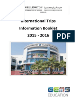final international trips brochure 2015-2016