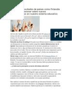 ¿Por qué fracasa el sistema educativo español?