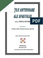 Nina Petre-Vietile Anterioare Ale Spiritului-Vol.2