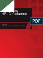 Shimadzu HPLC Columns