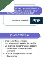 RSE Et Finance Fes 2015