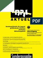 BPjS-Aktuell - Sonderheft(Dokumentation Der Jahrestagung 1999)