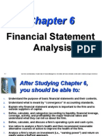 financhial Statement analysis van horne ratios
