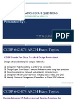 Actualtest Cisco Certified Design Professional 642-874 Certification Exam Questions
