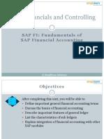 SAP FICO01 Fundamentals of SAP Financial Accounting