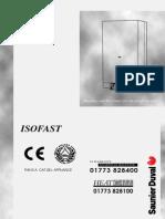 Saunier Duval Isofast F28e Installation Repair Service Manual