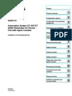 s7300 Failsafe Signal Modules Hardware Manual en-US en-US