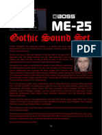 BOSS ME-25 Gothic Sound Set Readme e