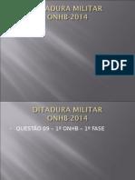 Ditadura Militar - Onhb 2014