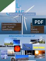 Wind Power by Lalit Kumar