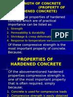 3.3.5 Strength of Concrete