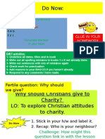 4   why should christians give to charity