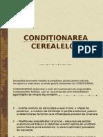 conditionarea cerealelor