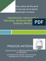 Fisiopatologia. Hipertension Relacionada a Obesidad Sd Metabolico y Diabetes